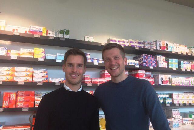 Sébastien en Stefaan apotheek Verhofstede Waregem